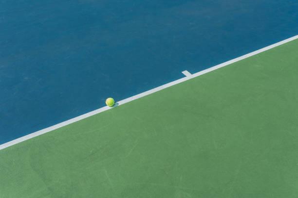 Der Ball liegt auf der Linie – Foto