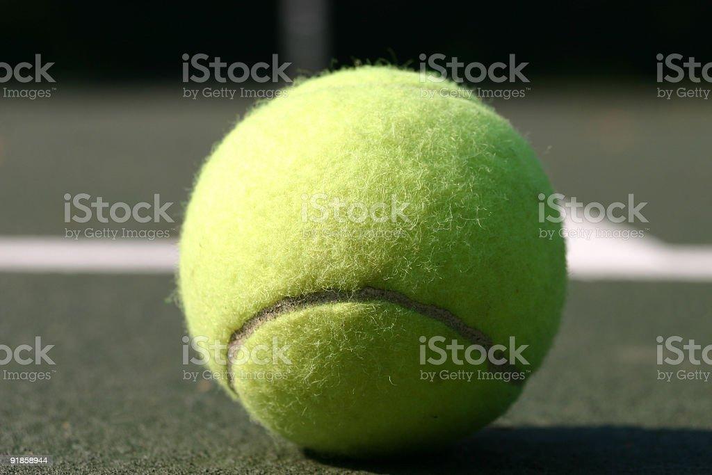 The ball royalty-free stock photo