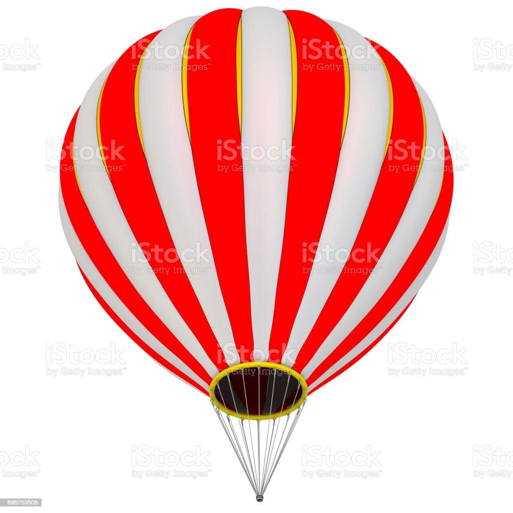 The balloon aircraft stock photo