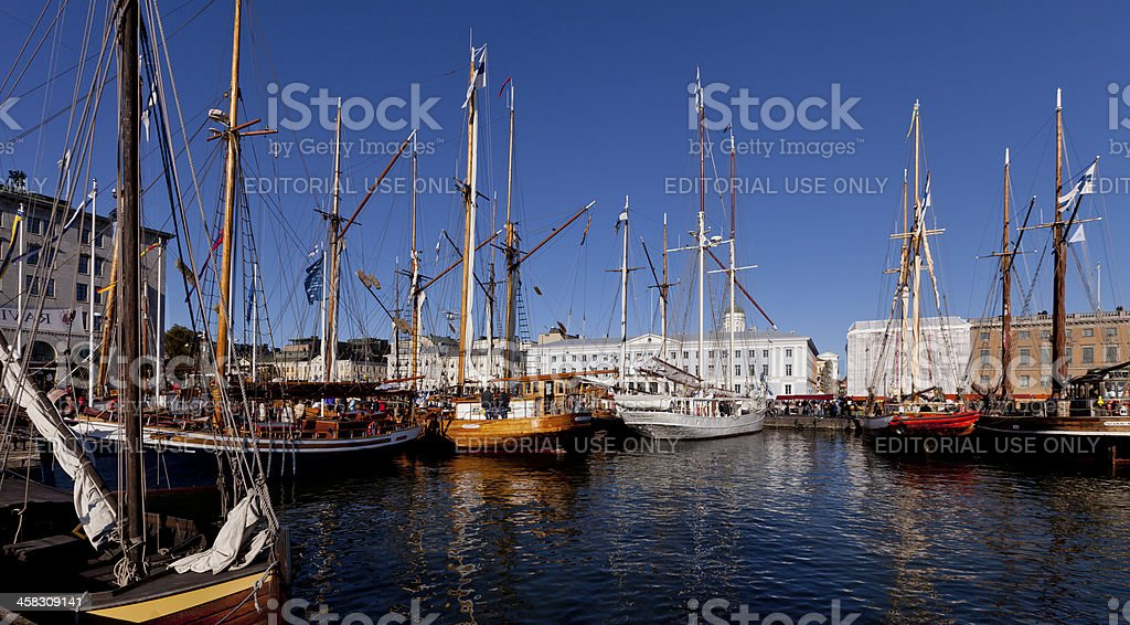 The Baltic Herring Market royalty-free stock photo