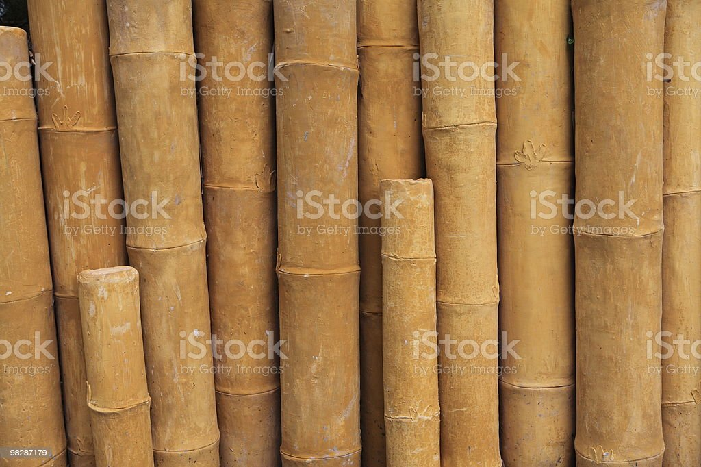 The bamboo mud royalty-free stock photo