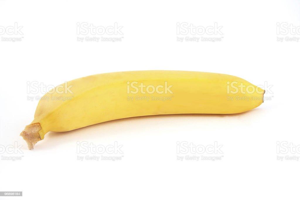 The bananas royalty-free stock photo