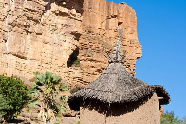 The Bandiagara Escarpment, Mali (Africa). stock photo