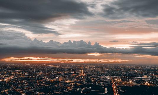 istock The Bangkok's Twilight. 843703128
