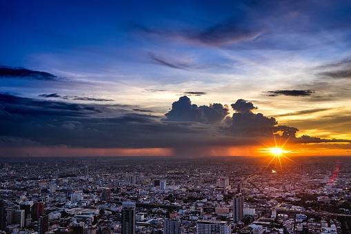 istock The Bangkok's Twilight. 843703138