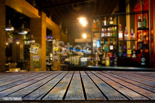 istock The bar at night 1007576658