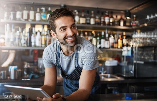 istock The bar has never been better 1081719640
