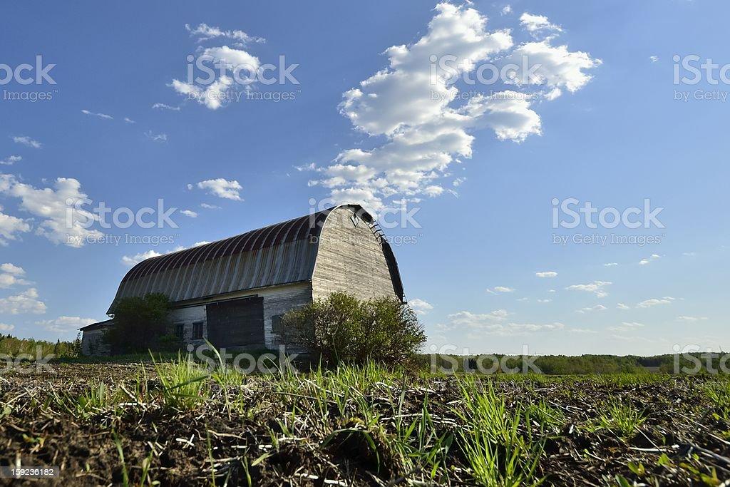 the barn royalty-free stock photo