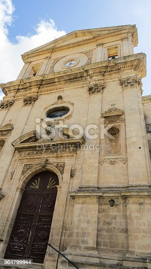 The Baroque Town Of Modica Sicily Italy Stock Photo & More Pictures of Architecture
