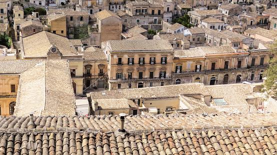 Die Barocke Stadt Von Modica Sizilien Italien Stockfoto und mehr Bilder von Architektur