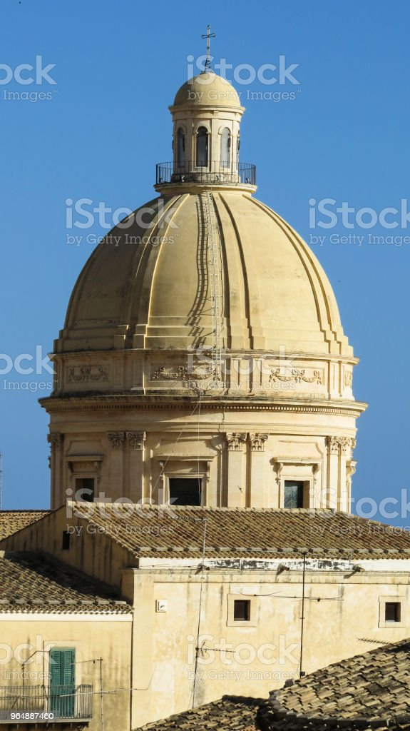 The baroque town of Noto, Sicily, Italy royalty-free stock photo