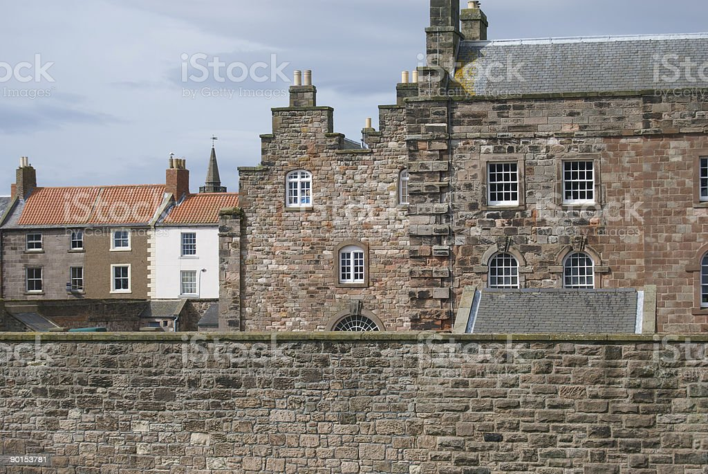 The Barracks, Berwick upon Tweed stock photo