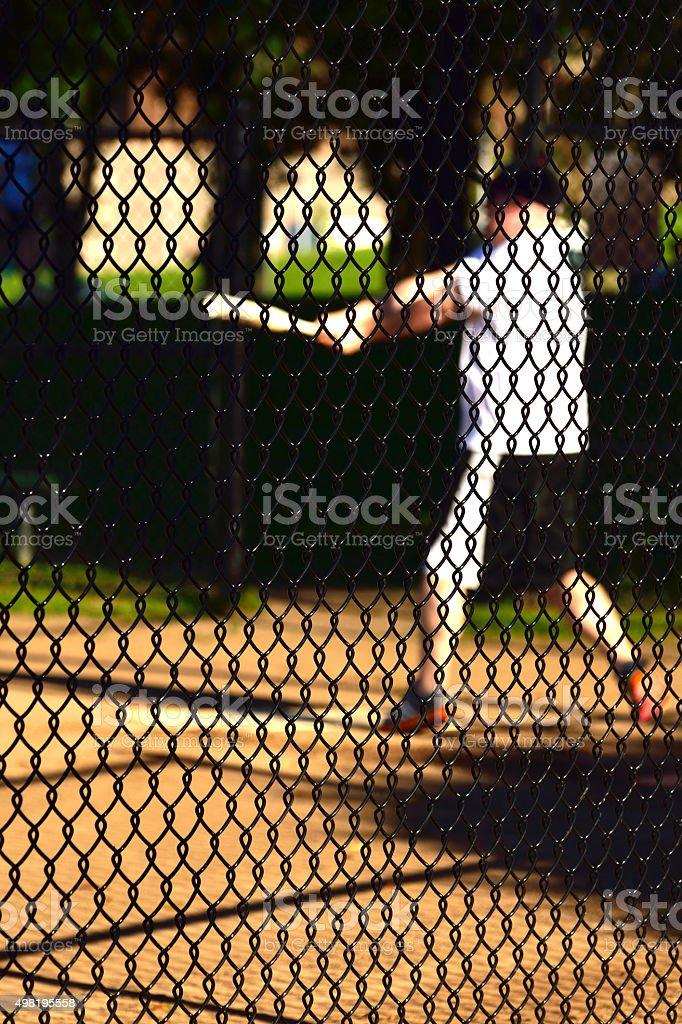 The Baseball Game stock photo