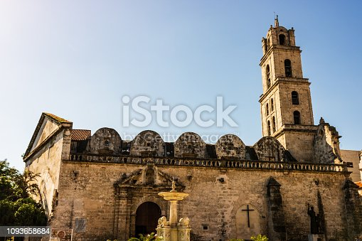 The Basilica and Monastery of San Francisco de Asis - Havana - Cuba