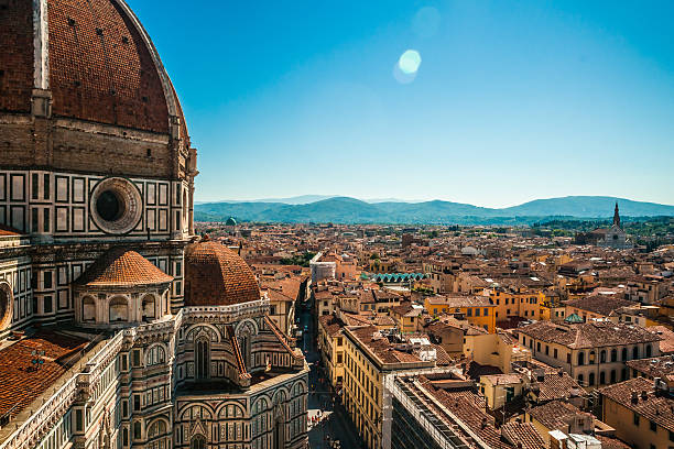 The Basilica di Santa Maria del Fiore, Florence, Italy stock photo