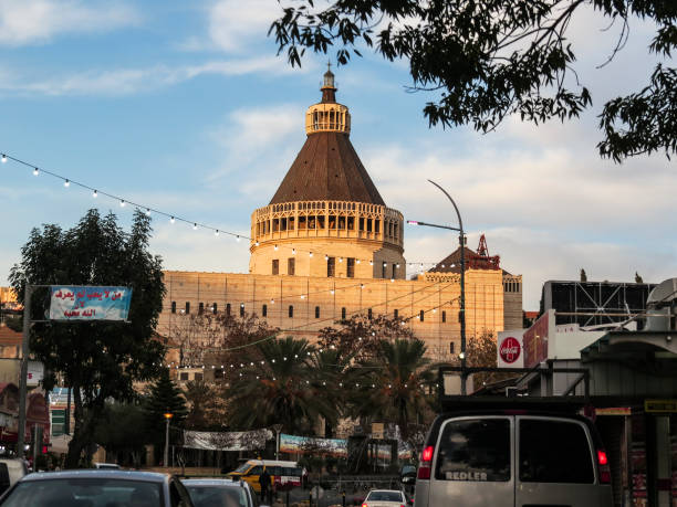 報喜的大教堂, 拿撒勒, 以色列圖像檔