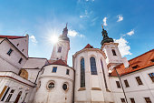 istock The Basilica of the Assumption of Our Lady in Strahov Monastery, Prague, Czech Republic 910120556