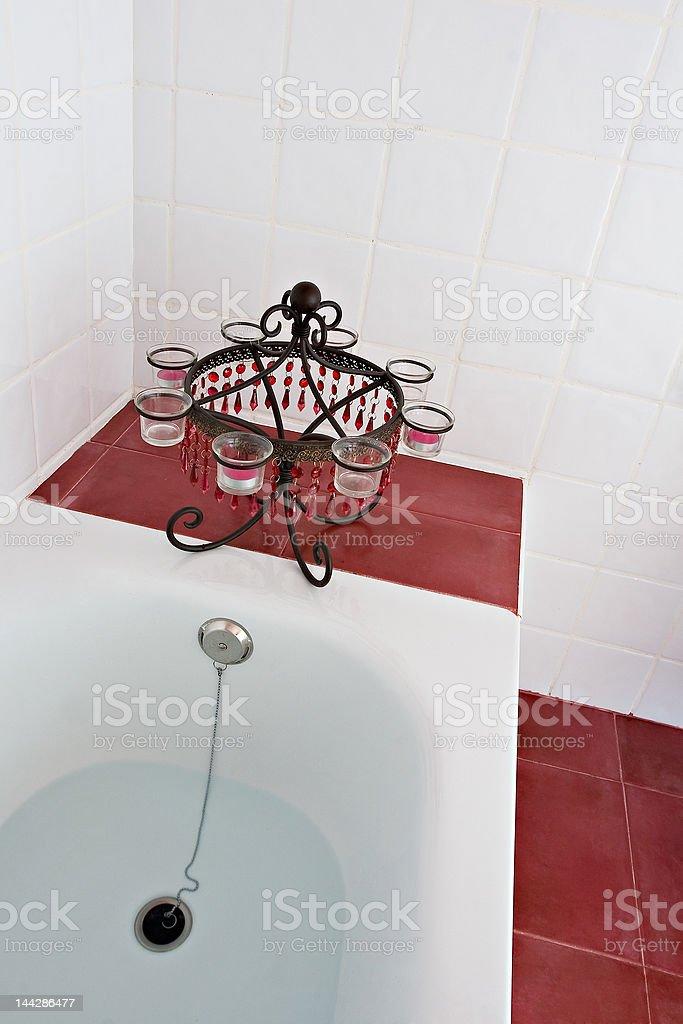 The bath royalty-free stock photo