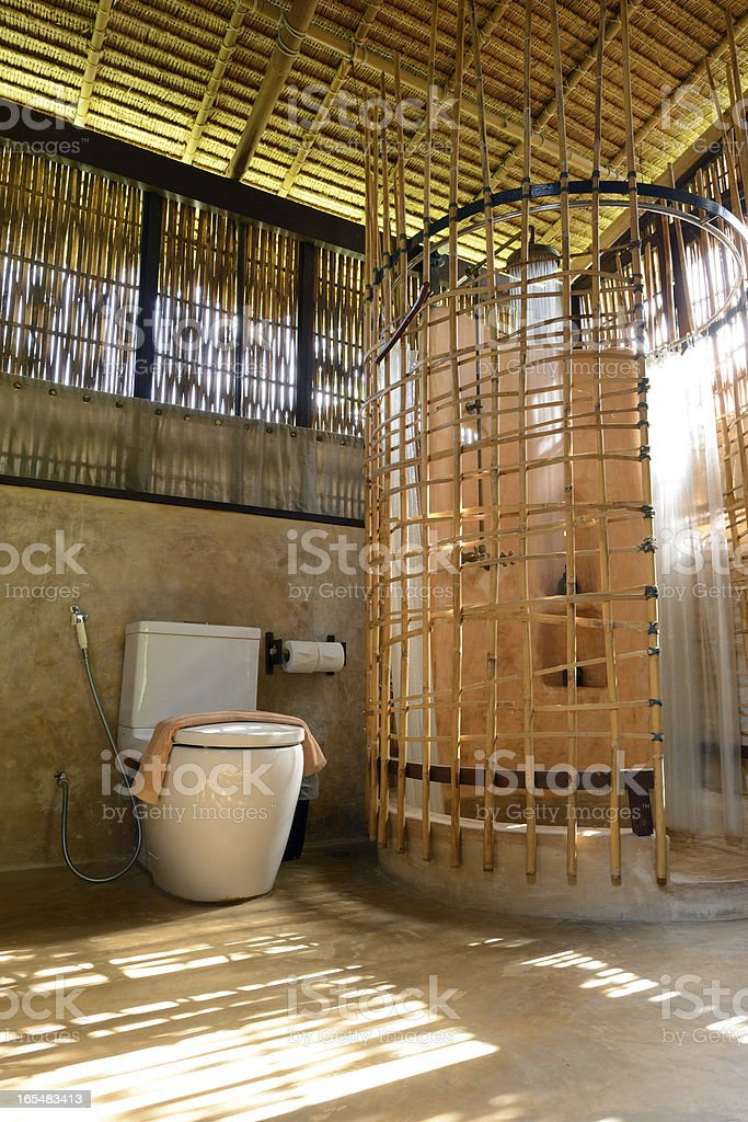 The bathroom royalty-free stock photo