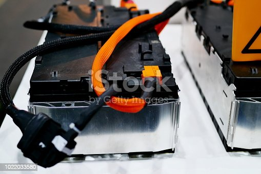 istock The batteries in electric car 1022033580