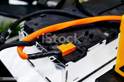 istock The batteries in electric car 1022033584