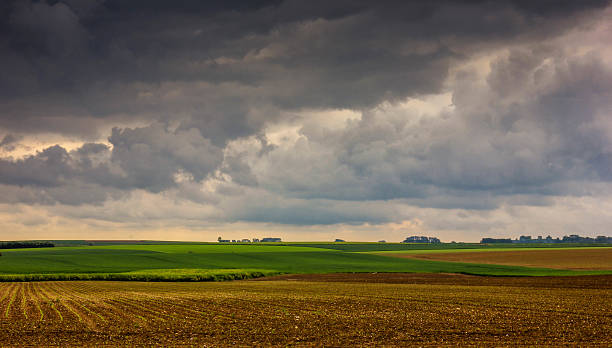 The Battle of the Somme Landmarks WW1 Thiepval, France - May 23, 2016:  The Battle of the Somme Landmarks WW1 picardy stock pictures, royalty-free photos & images