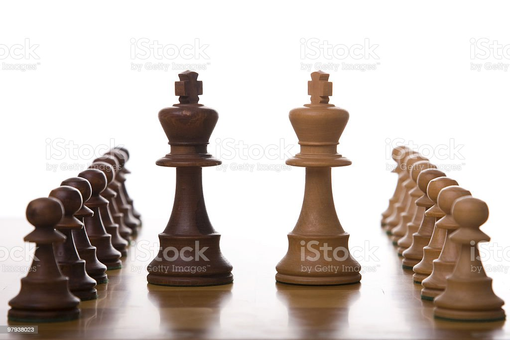 The battle royalty-free stock photo
