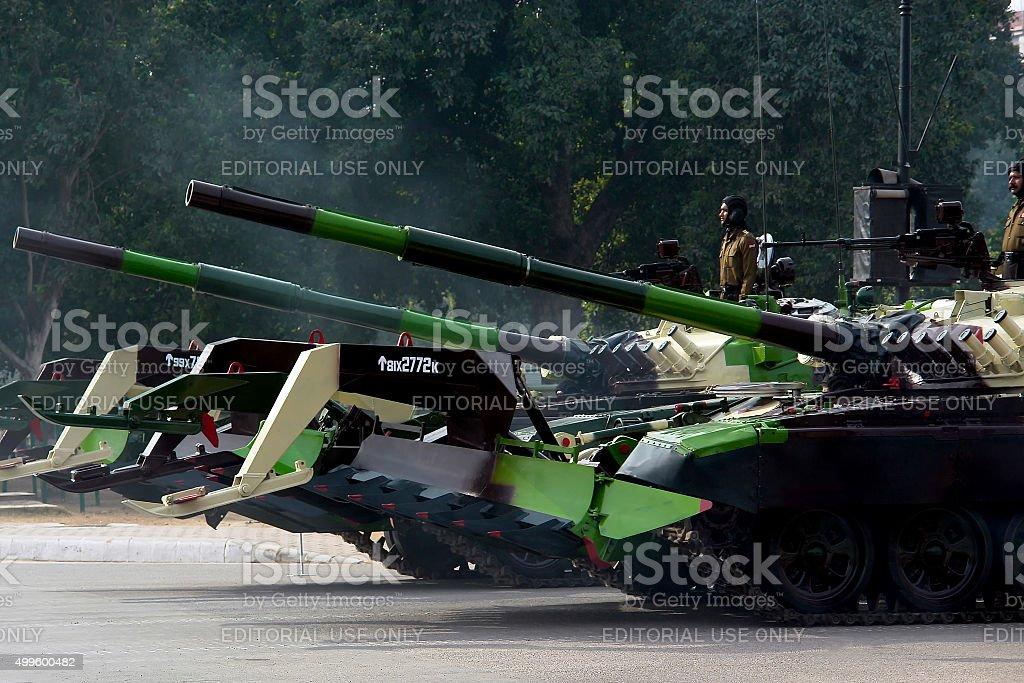 The battle tanks ! stock photo