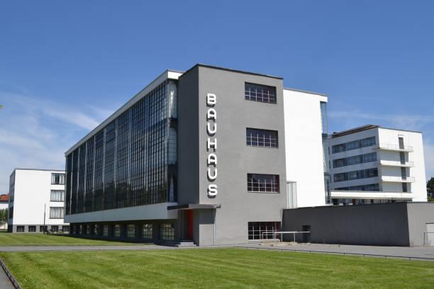 Le bâtiment du Bauhaus Dessau - Photo