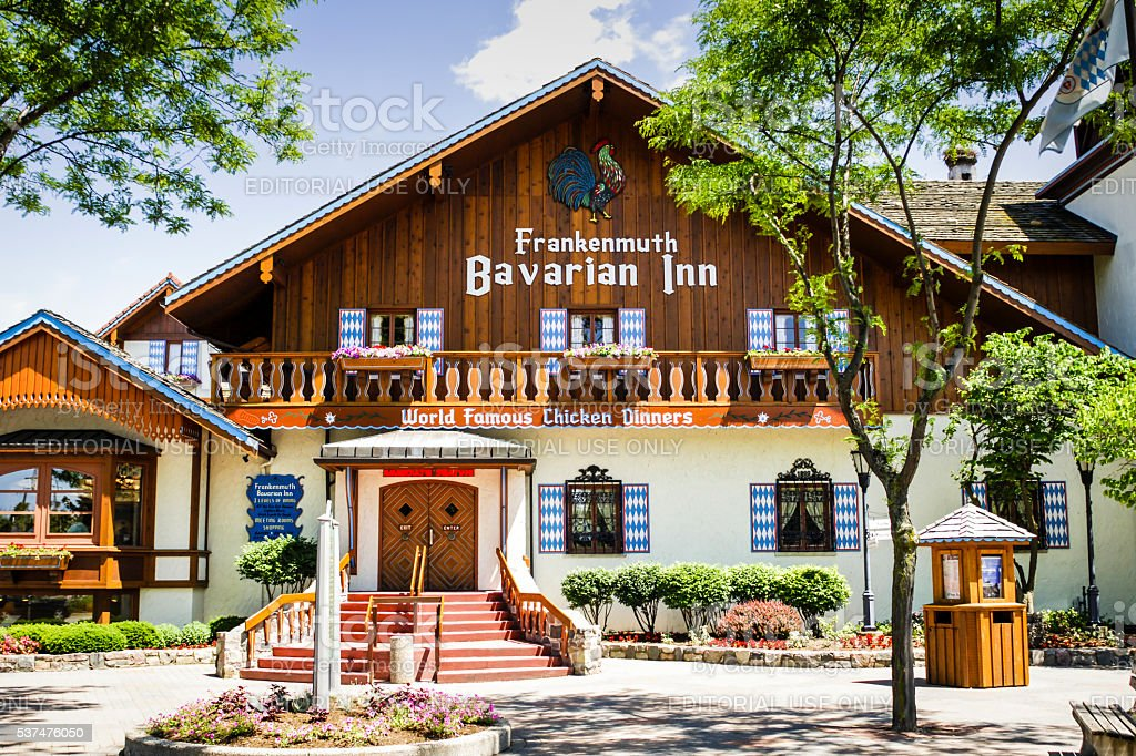 The Bavarian Inn Restaurant In Frankenmuth Mi Stock Photo