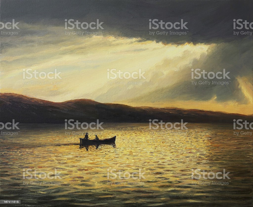 The Bay of Silence royalty-free stock photo