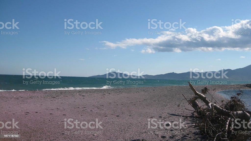 La plage à Argelès - Photo