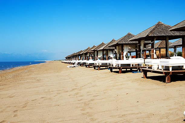 Strand in Luxus hotel, Antalya, Türkei – Foto