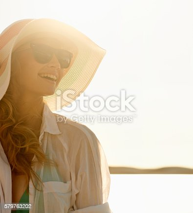 578302556 istock photo The beach brings eternal joy to the soul 579763202