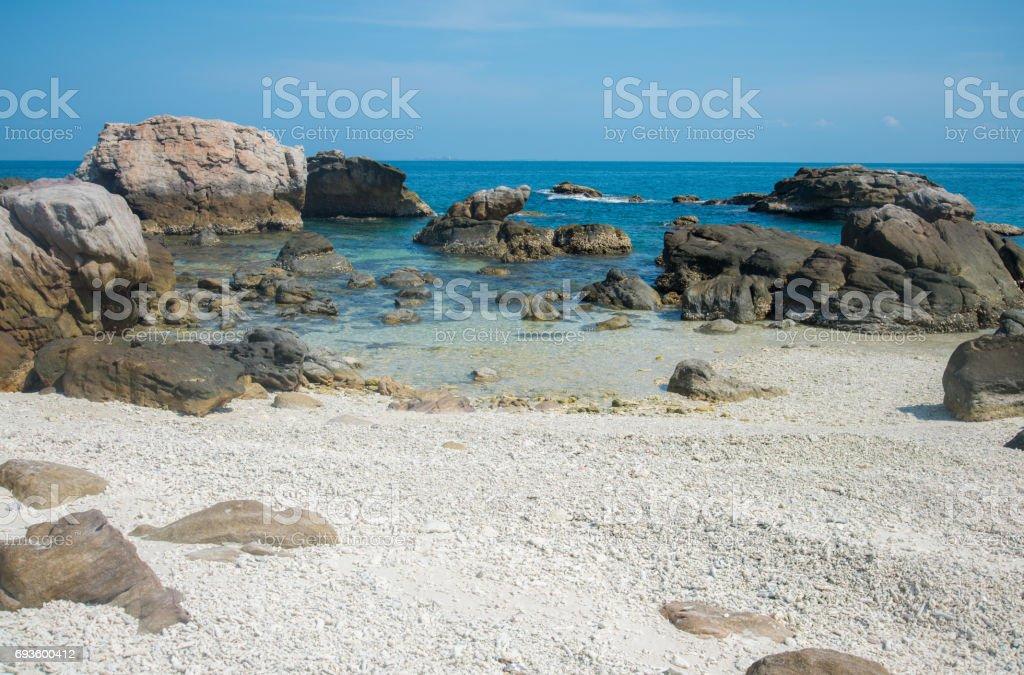 Het strand in Arnhemland de Indiase deelstaat Noordelijk Territorium van Australië. foto