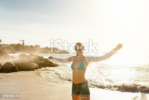 istock The beach is my getaway 579763170