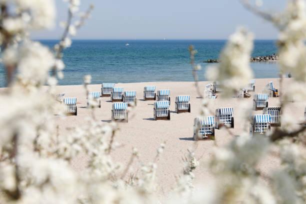 Der Strand von Kühlungsborn, Ostsee, Deutschland – Foto