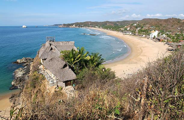 Der Strand von Zipolite von Oaxaca – Foto
