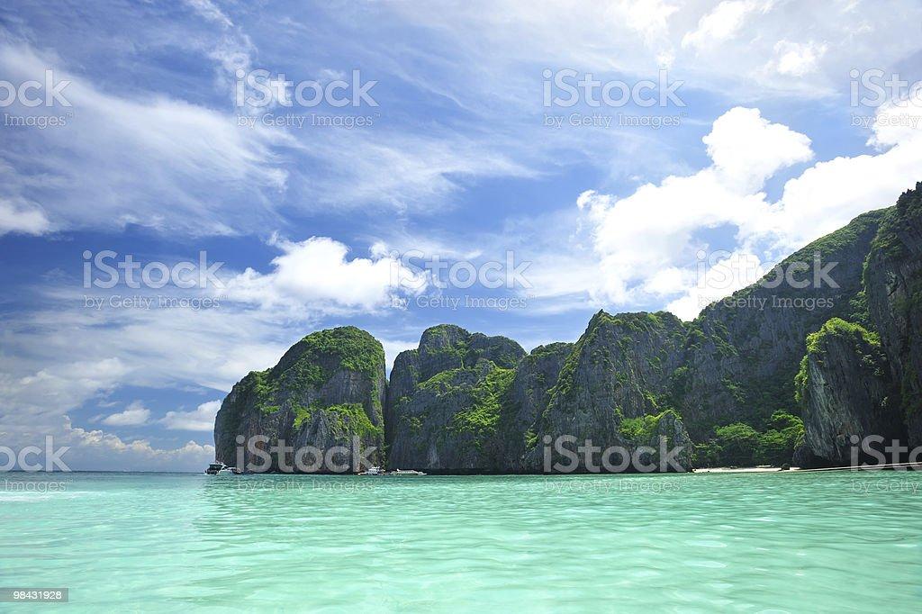 이 해변 royalty-free 스톡 사진