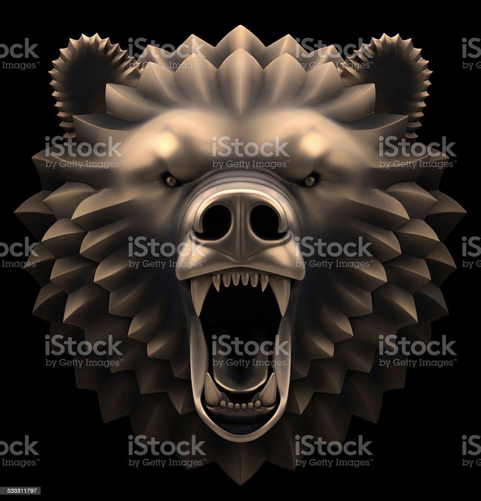 The Bear's Head stock photo
