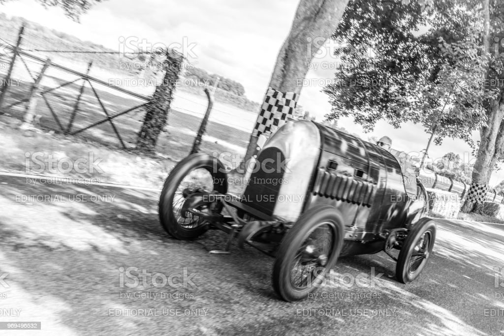 Fiat S76 The Beast Of Turin 1910 Speed Record Car Stock Photo Download Image Now Istock