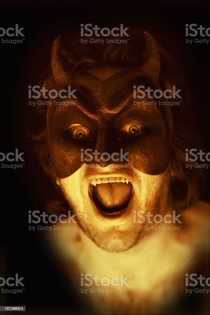 The Beast stock photo