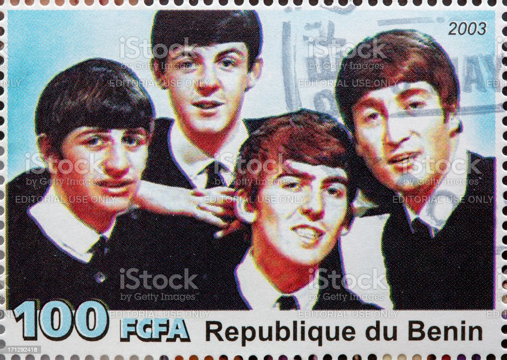 The Beatles stock photo