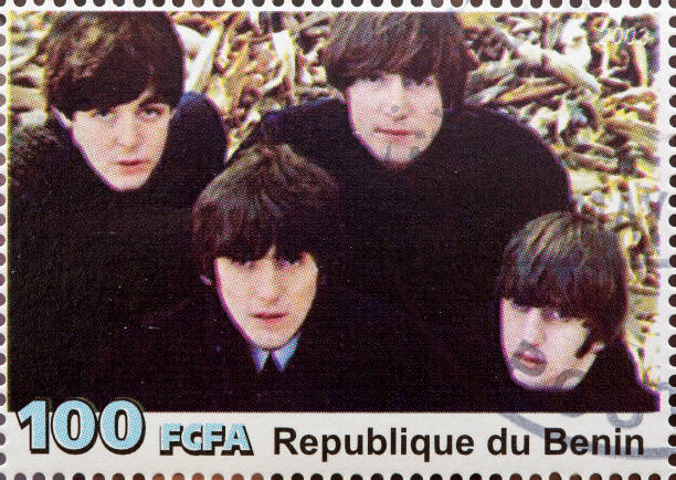 the beatles - beatles band stock-fotos und bilder