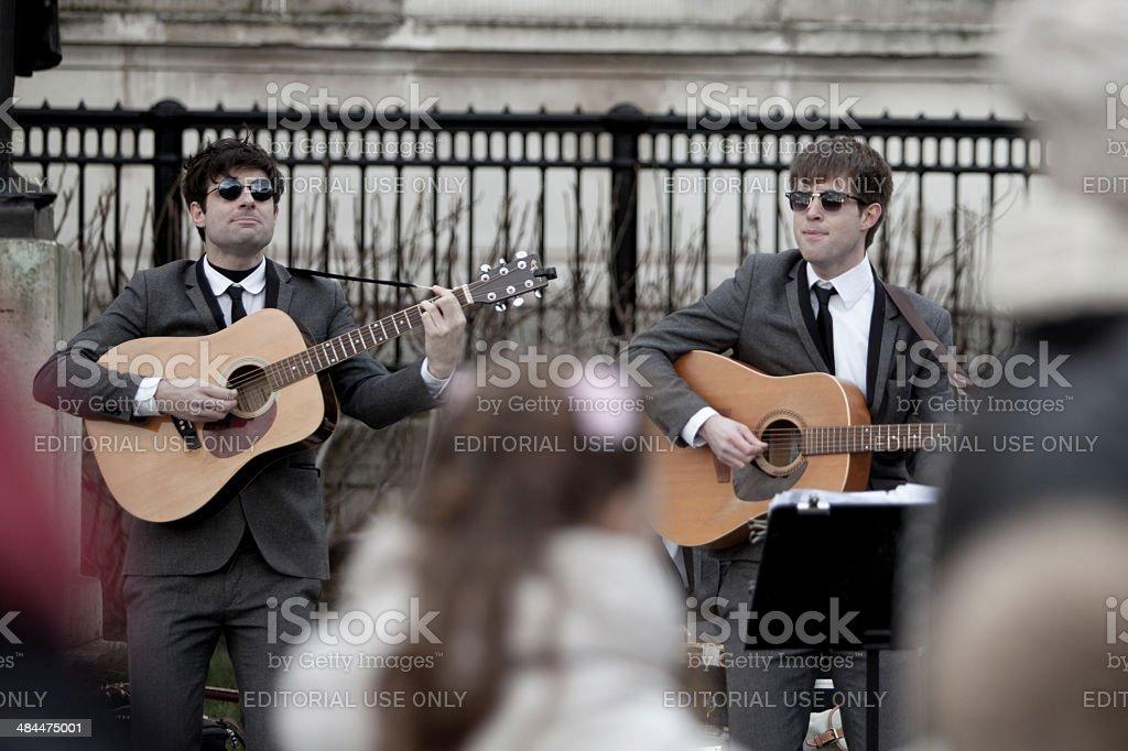 The Beatles stock photo