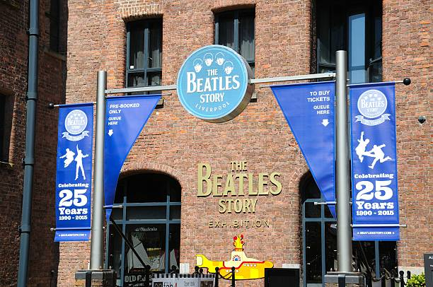 Il Beatles Story Exhibition Building, Liverpool. - foto stock