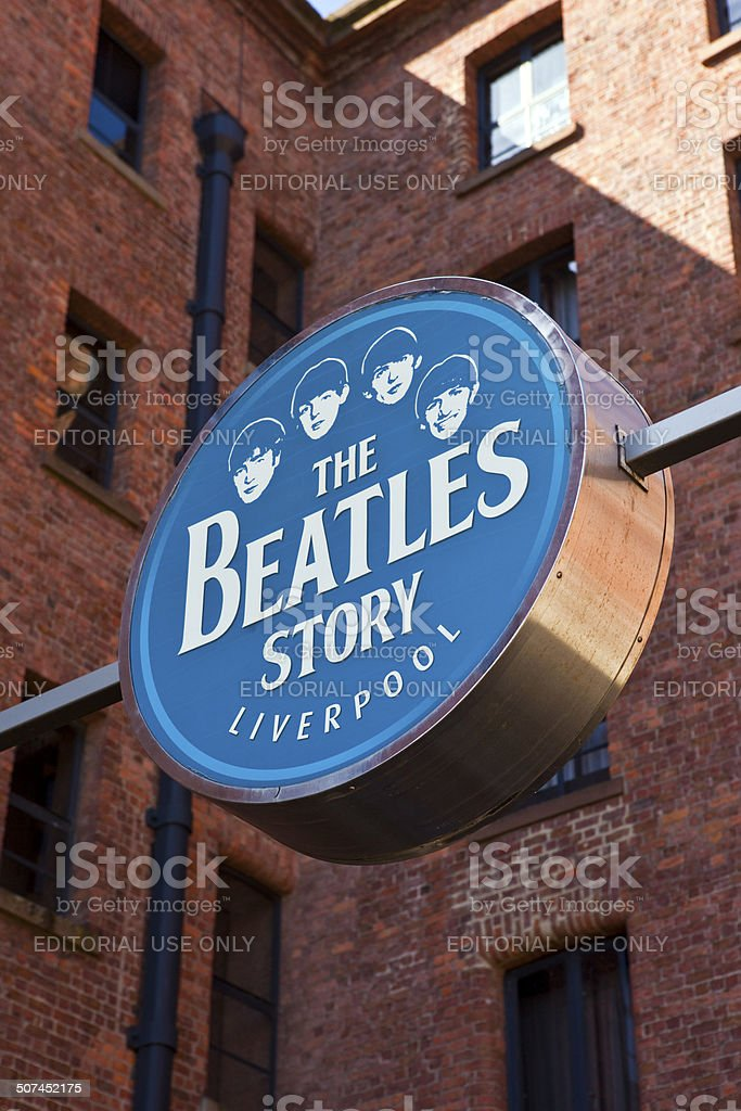 The Beatles Story Exhibition stock photo