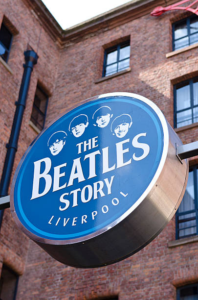 The Beatles Story, Museo di Liverpool, - foto stock