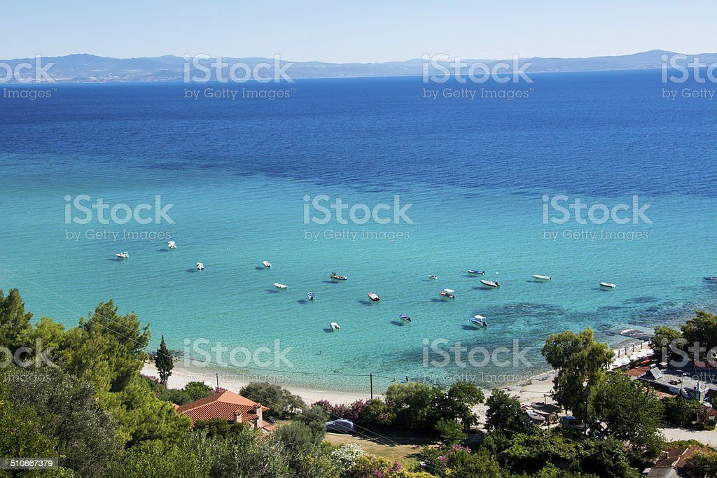 The Beauiful Sea scape stock photo
