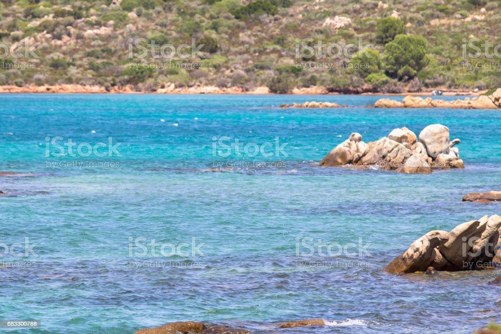 The beautiful beach on Sardinia island, Italy royalty free stockfoto